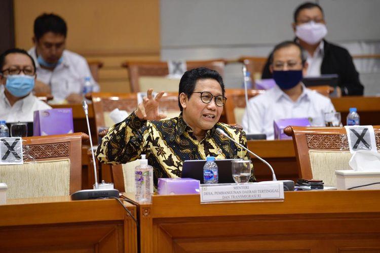 Menteri Desa Desa, Pembangunan Daerah Tertinggal, dan Transmigrasi Abdul Halim Iskandar dalam salah satu kesempatan.