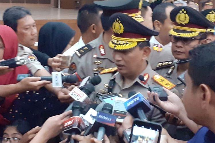 Kepala Badan Reserse Kriminal (Kabareskrim) Polri baru, Irjen Listyo Sigit Prabowo, di Gedung Bareskrim Polri, Jakarta Selatan, Senin (16/12/2019) pagi.