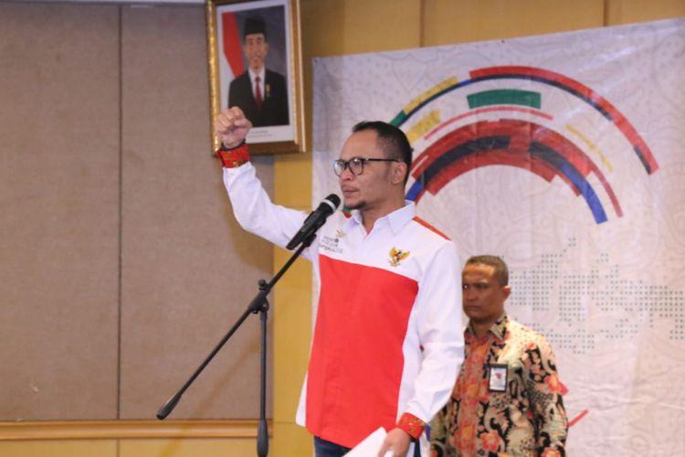 Menteri Ketenagakerjaan (Menaker) Muhammad Hanif Dhakiri berharap Indonesia menjadi juara umum pada kejuaraan ASEAN Skills Competition (ASC) ke-XII di Bangkok, Thailand yang digelar 31 Agustus hingga 2 September 2018.
