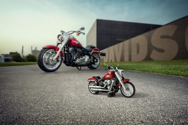 Lego Fat Bot Harley-Davidson