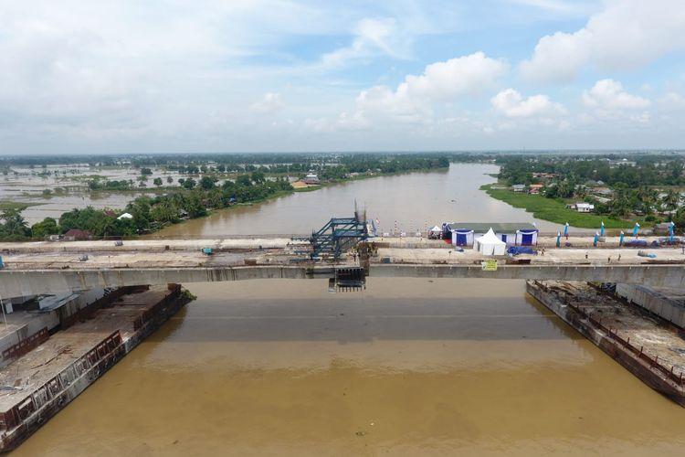 Jembatan Tol Ogan Kayu AGung-Palembang-Betung (Kapal Betung)