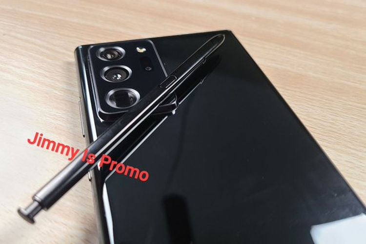 Penampakan Galaxy Note 20 Ultra