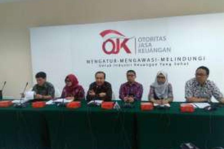 Satgas Waspada Investasi melakukan penindakan terhadap kasus-kasus investasi bodong, Jakarta, Selasa (1/11/2016).