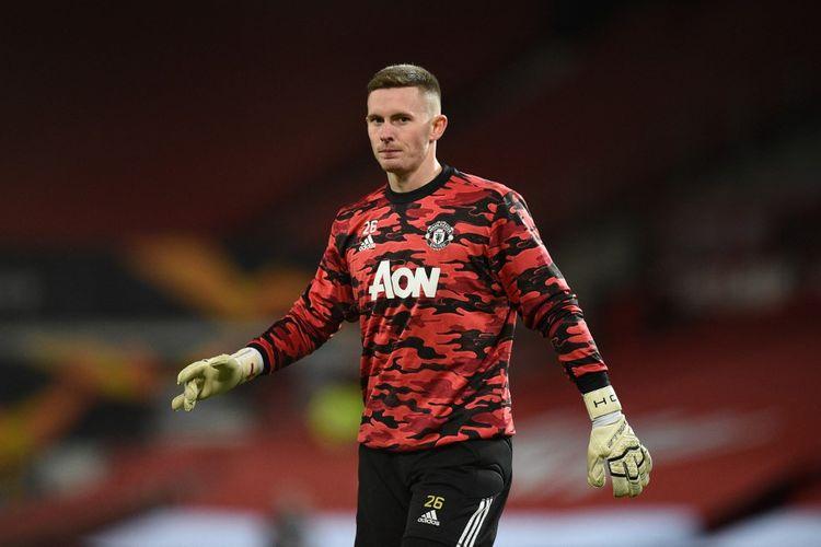 Penjaga gawang Manchester United, Dean Henderson.