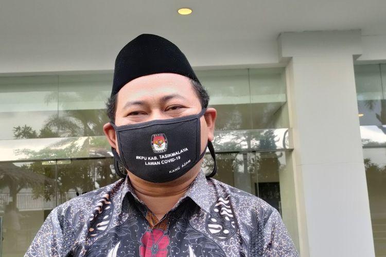 Ketua KPU Kabupaten Tasikmalaya, Zamzam Zamaludin.