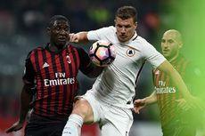 Hasil Liga Italia, AS Roma Menang Telak di Kandang AC Milan