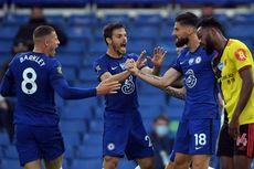 Babak I Chelsea Vs Watford, Giroud dan Willian Bawa The Blues Unggul