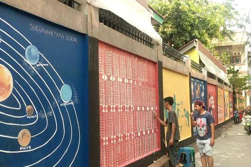 Camat Pademangan Dorong 3 Kelurahan Buat Mural