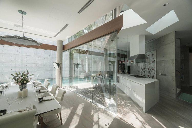 Dapur minimalis JS House di Jakarta karya Studio TonTon