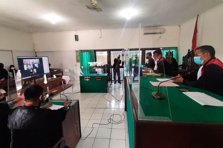 Sidang Perdana Sate Sianida di PN Bantul Kamis (16/9/2021)