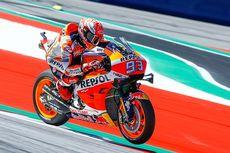 MotoGP Inggris 2019, Marquez Kecewa Disalip Rins di Tikungan Terakhir