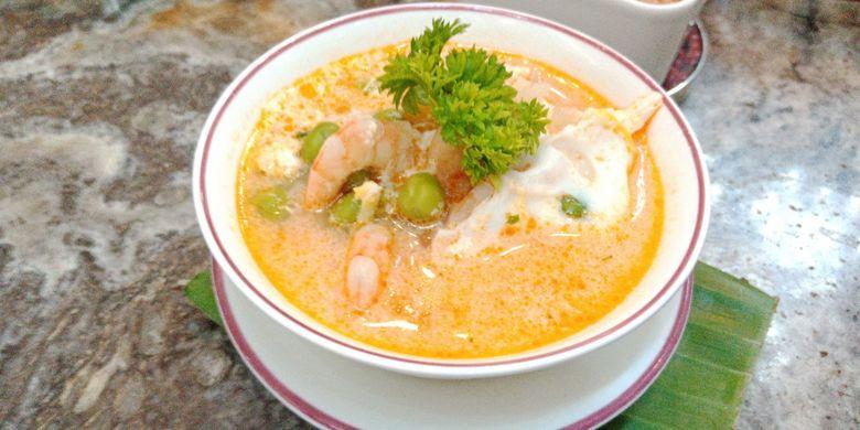 Ragam sajian kuliner Peruvian (Peru) yang ada di Hotel Gran Melia, Jakarta, Senin (19/8/2018).