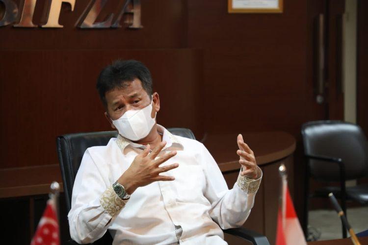 Wali Kota Batam Muhammad Rudi.