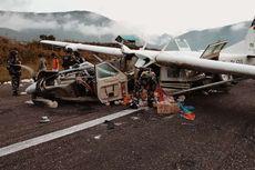 Pesawat Smart Air Kecelakaan di Bandara Ilaga, Pilot Tewas