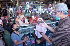 Ganjar Cek Kesiapan Penutupan Pasar yang Jadi Episentrum Corona di Temanggung