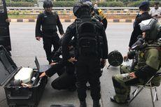 Tas Mencurigakan Tergeletak di Dekat Gerbang Tol Senayan, Tim Gegana Diturunkan