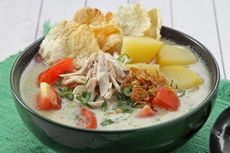 Resep Soto Ayam Santan yang Gurih, Masak Pakai Rice Cooker