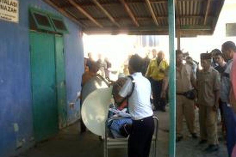 Korban tewas di kamar mayat RSUD Dr.R Soedarsono Kota Pasuruan
