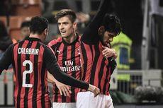 Hasil dan Klasemen Liga Italia, AC Milan Kembali ke Empat Besar