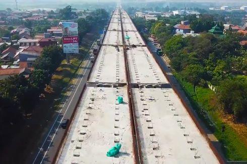 Oktober, Tol Layang Terpanjang di Indonesia Jalani Uji Beban