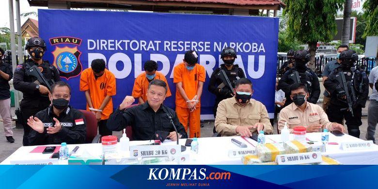 Dramatis, Penangkapan Perwira Polisi Kurir Sabu 16