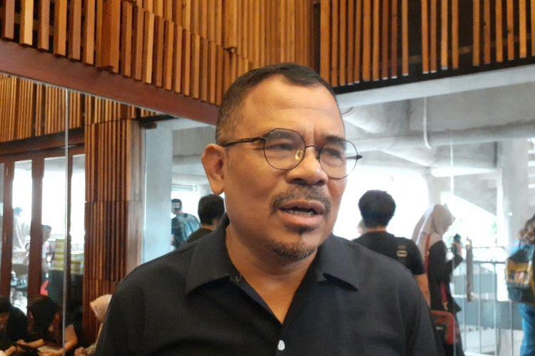 Garin Nugroho saat ditemui di Gedung Teater Salihara, Pasar Minggu, Jakarta Selatan, Senin (16/12/2019).