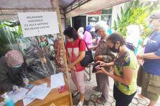 Warga Lansia Antusias Mengikut Vaksinasi Covid-19 di Banjarmasin