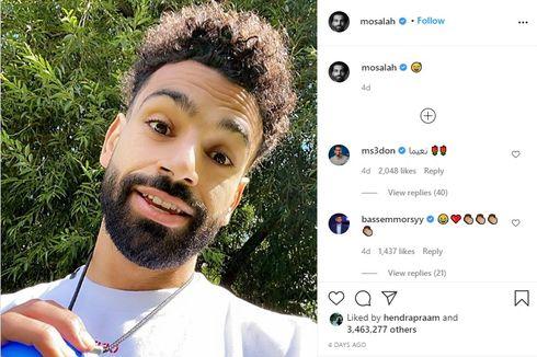 Ubah Gaya Rambut, Mohamed Salah Tampak Lebih Muda