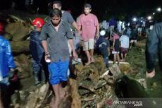 Banjir Bandang Terjang Desa Rogo di Kabupaten Sigi, 2 Jembatan Putus