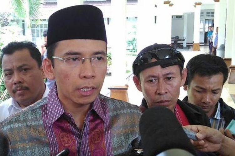 Gubernur NTB TGH M Zainul Majdi