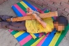 Ayah Siksa Anak dengan Hukuman Kejam, Ikat Tangan dan Lumuri Tubuhnya dengan Madu