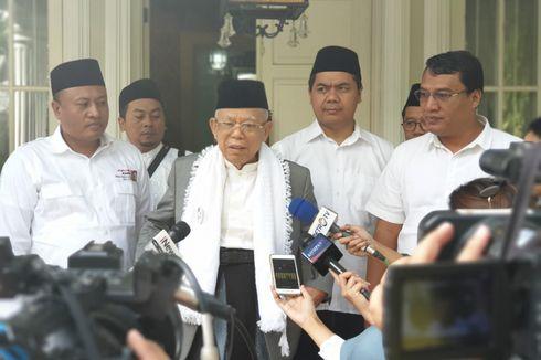 Ma'ruf Amin Berencana Pakai Sarung Saat Ikuti Debat Pertama