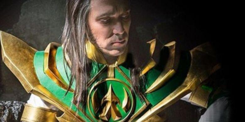 Tommy Oliver berubah menjadi Lord Drakkon dalam Power Rangers: Shattered Grid.