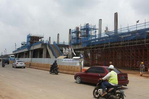 Pembangunan Depo MRT, Lajur Kendaraan di Pasar Jumat Akan Dikurangi