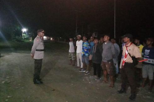 Pemuda Gereja di Distrik Miktim Papua Ikut Amankan Shalat Tarawih