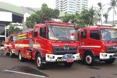 Antisipasi Demo, Damkar Jakpus Kembali Siagakan 6 Unit Mobil Pemadam