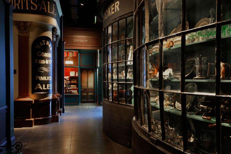 Salah satu sudut di Museum of London.