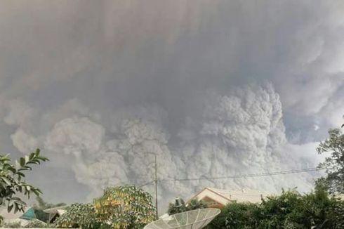 Foto-foto Semburan Abu dan Awan Panas Gunung Sinabung