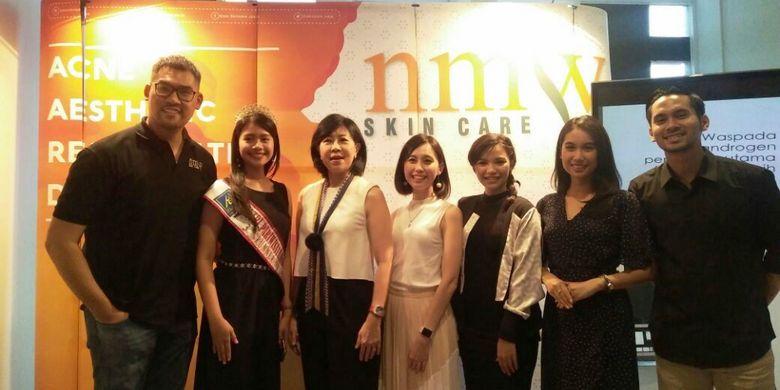 Perayaan ulang tahun NMW Skincare Kalimalang Bekasi yang ke-4.