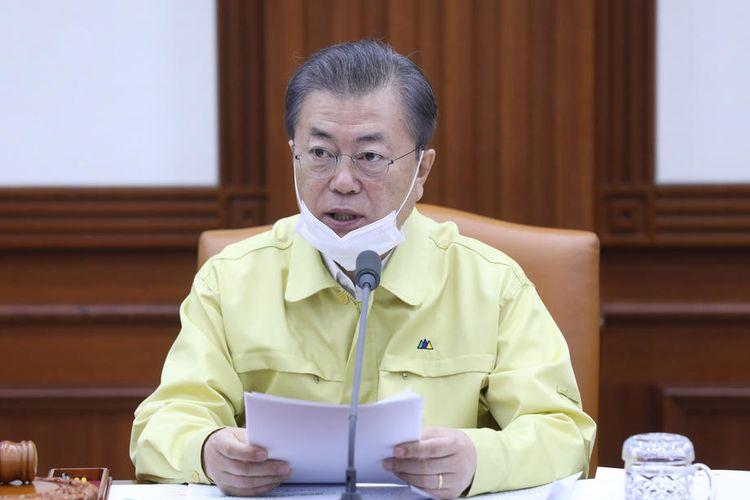 Presiden Korea Selatan Moon Jae-in EPA-EFE/YONHAP SOUTH KOREA OUT