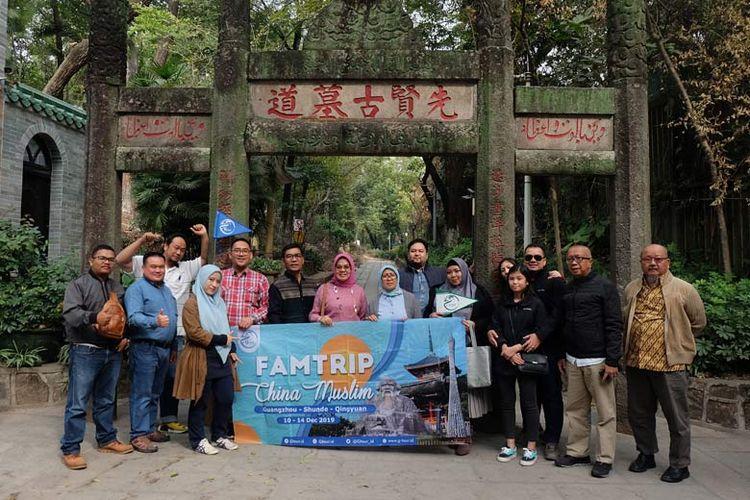 Fam Trip China Muslim G-tour diikuti sejumlah pemilik usaha tour dan travel