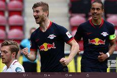 Timo Werner Terus Tempel Ketat Lewandowski di Top Skor Bundesliga