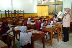 Lama Tak Masuk Sekolah, Siswa SD Lupa Peraturan Baris-berbaris Saat Mulai Pembelajaran Tatap Muka
