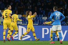 Hasil Napoli Vs Barcelona, Imbang Diwarnai Kartu Merah Arturo Vidal