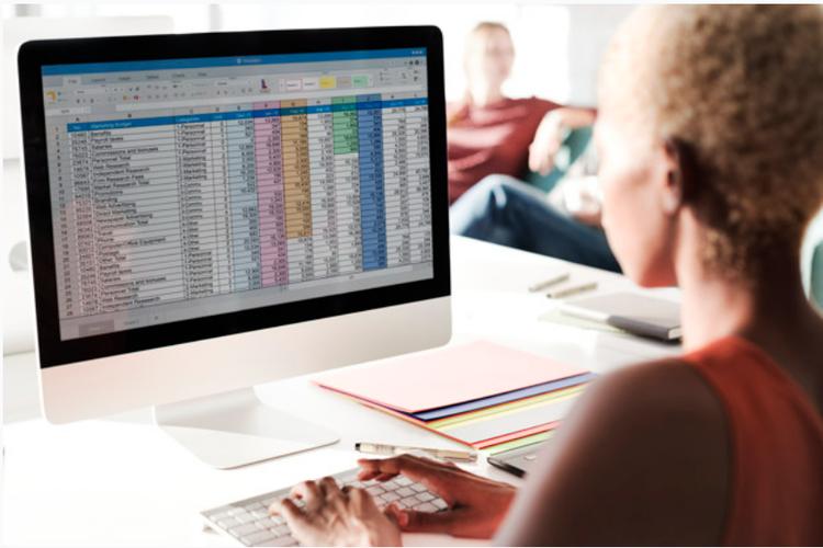Ilustrasi Microsoft Excel