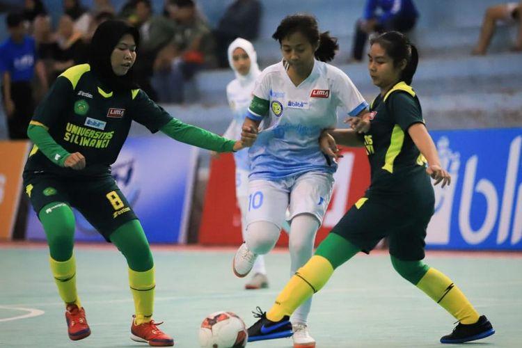 Perhelatan Liga Mahasiswa Futsal mulai Senin (7/10/2019) sampai dengan Minggu (13/10/2019) menghadirkan lima muka baru.