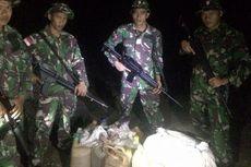 Petugas Pengamanan Perbatasan Gagalkan Penyelundupan BBM ke Timor Leste