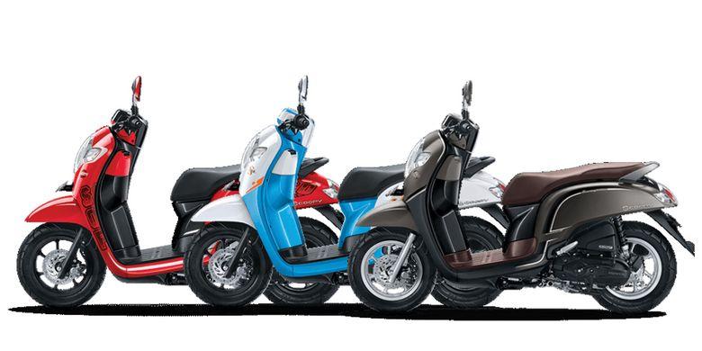 Tiga pilihan tema Honda All New Scoopy