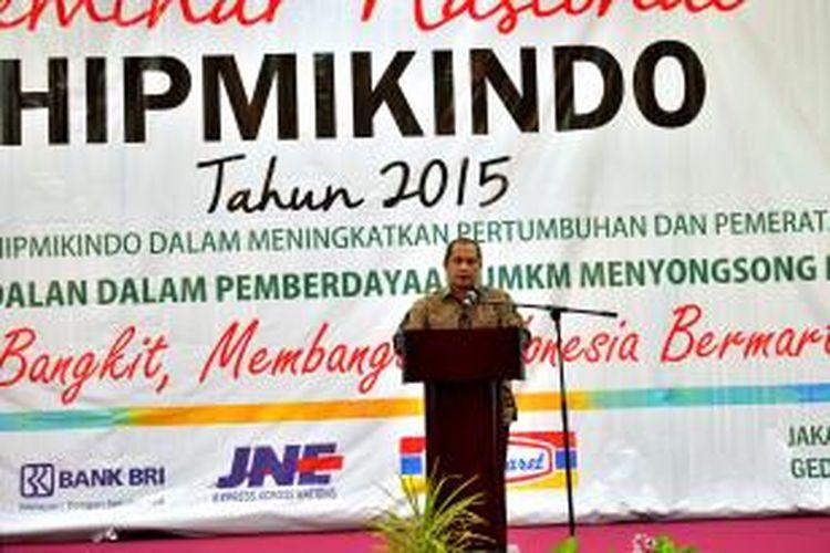 Menteri Desa, Pembangunan Daerah Tertinggal, dan Transmigrasi Marwan Jafar