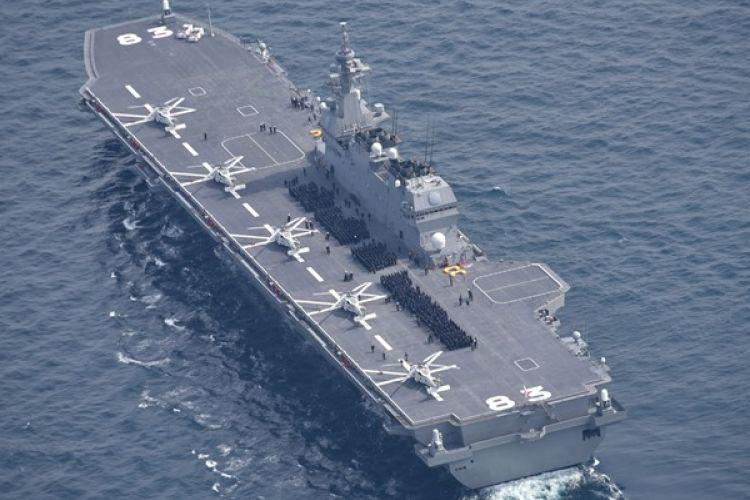 Kapal pengangkut helikopter milik AL Jepang, Izumo